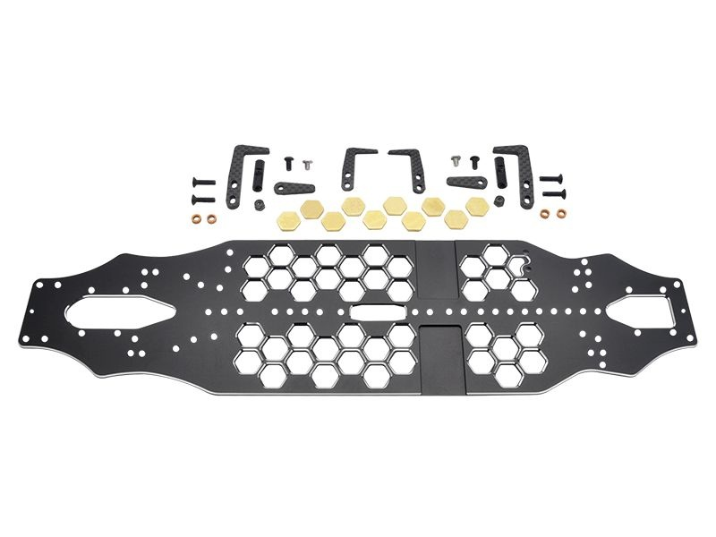 Yokomo BD10 Alu Honeycomb Chassis Set