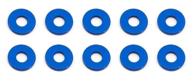 Bulkhead Scheiben 7.8x1,0mm, Alu blau (10)