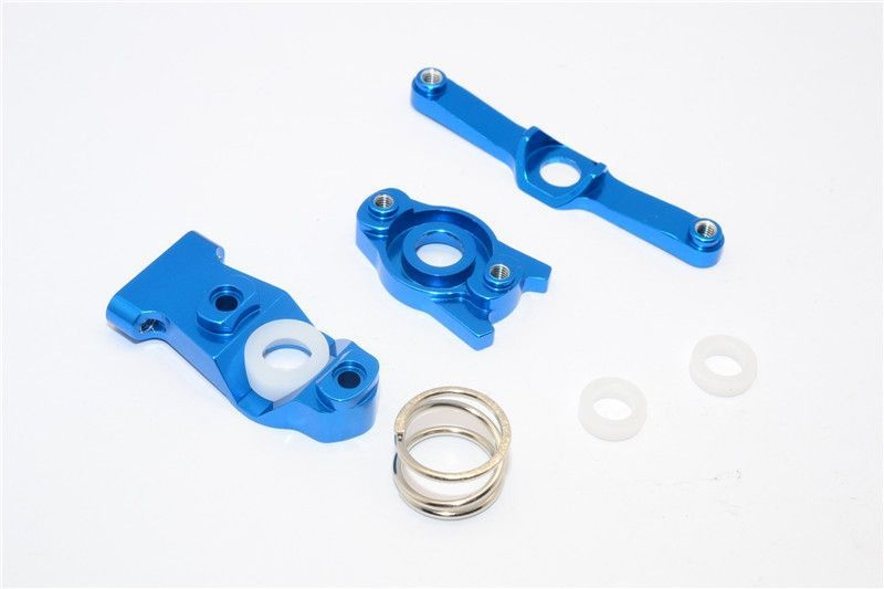 ALLOY STEERING ASSEMBLY - 3PCS SET blue