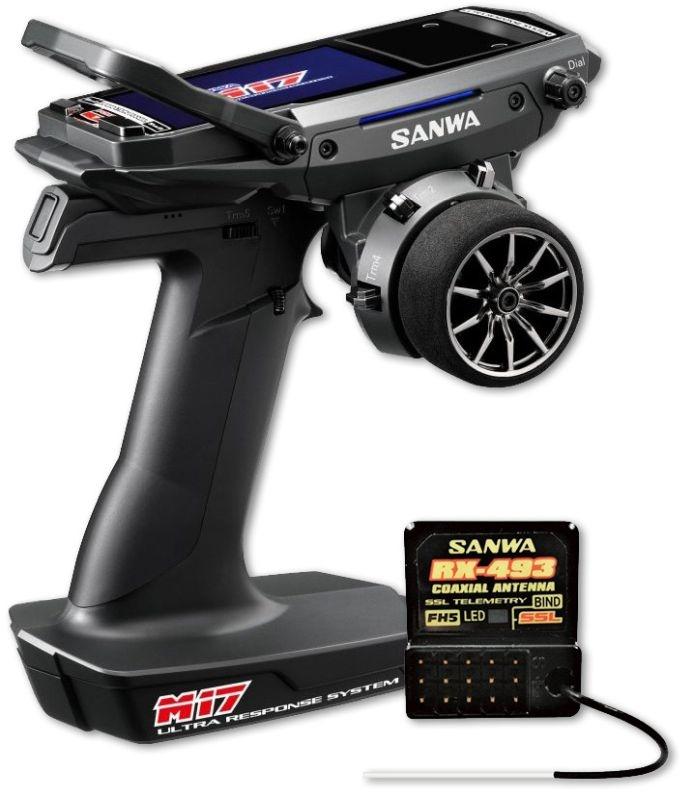 M17 - RX-493 / ohne Servos/ TX/RX Farb-Touch-Display