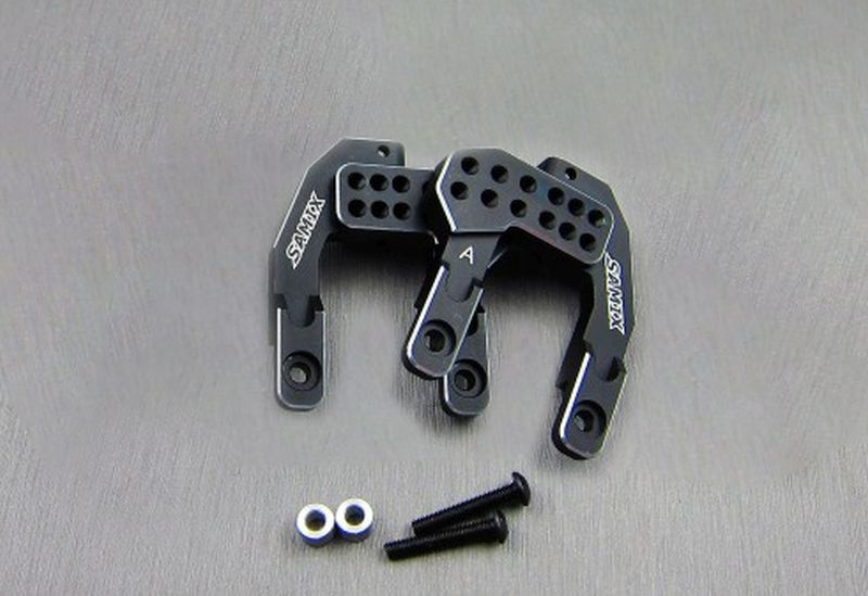 SAMIX CFX-W Samix front & rear shock plate black