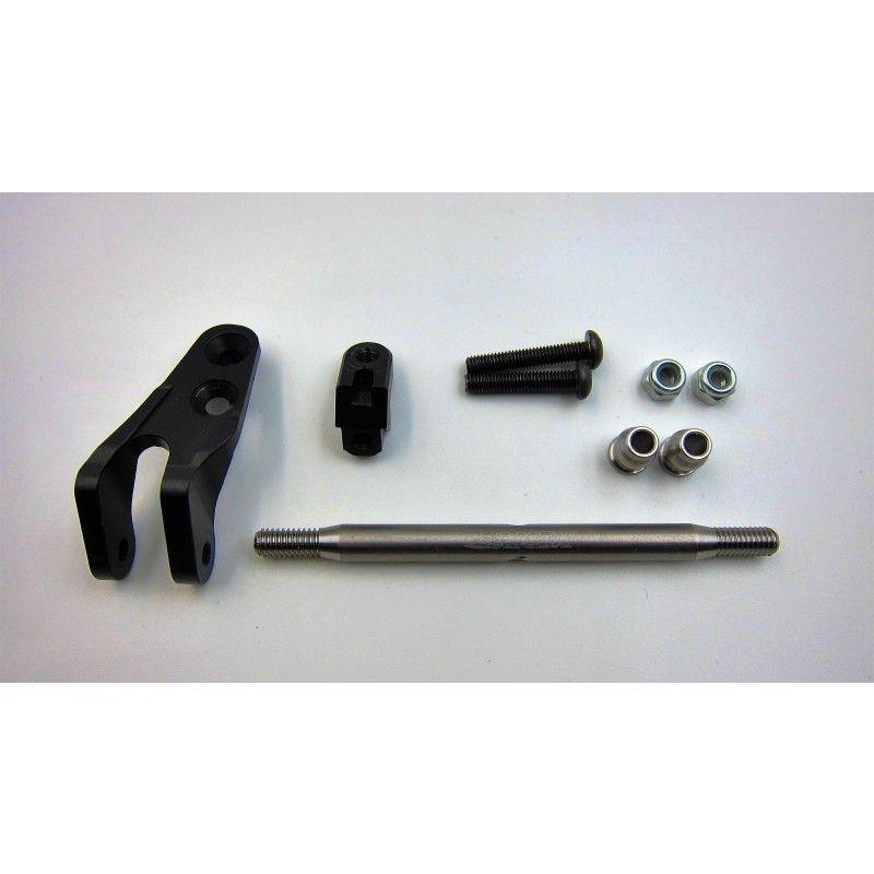 SAMIX SCX10-2 alum black rear 3 link set