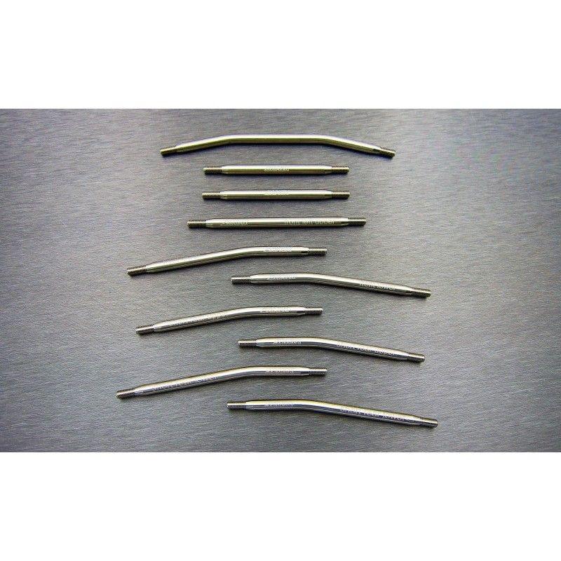 SAMIX SCX10-2 288mm high clearance titianium link kit 10pcs