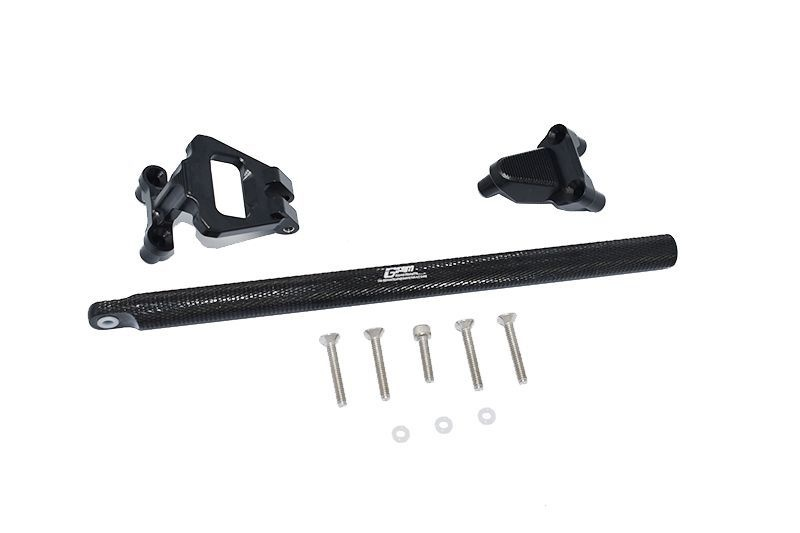ALUMINUM CENTER BRACE BAR&MOUNT -11PC SET black