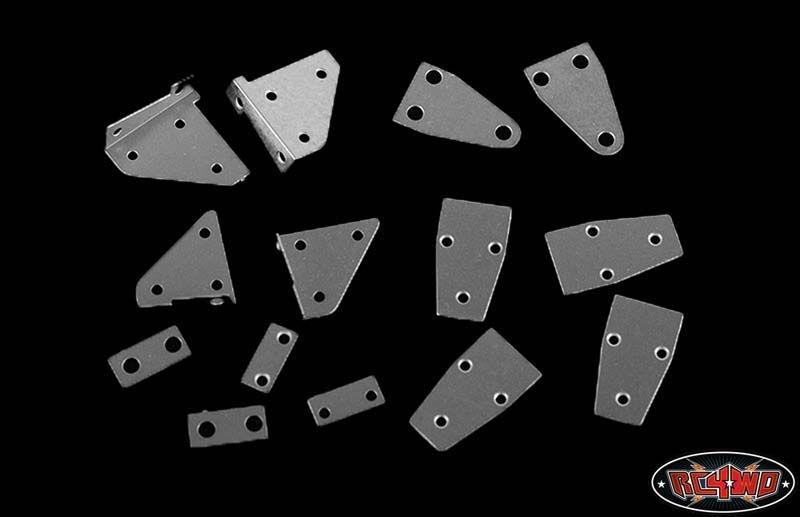 Metal Hinge Set for Tamiya CC01 Wrangler