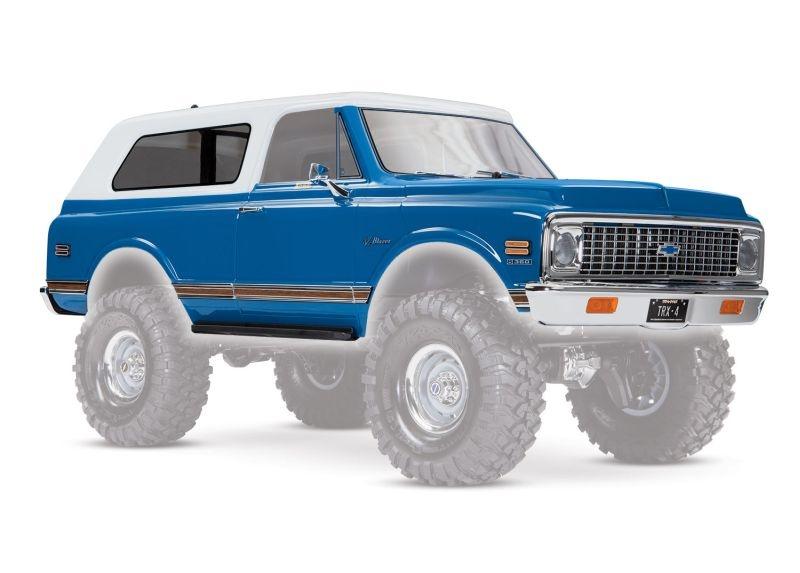 Karo Chevrolet Blazer 1972 blau (komplett mit Anbauteile)