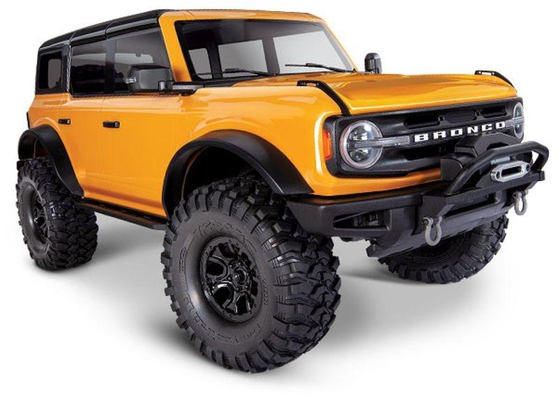 TRAXXAS TRX-4 2021 Ford Bronco orange RTR o. Akku/Lader