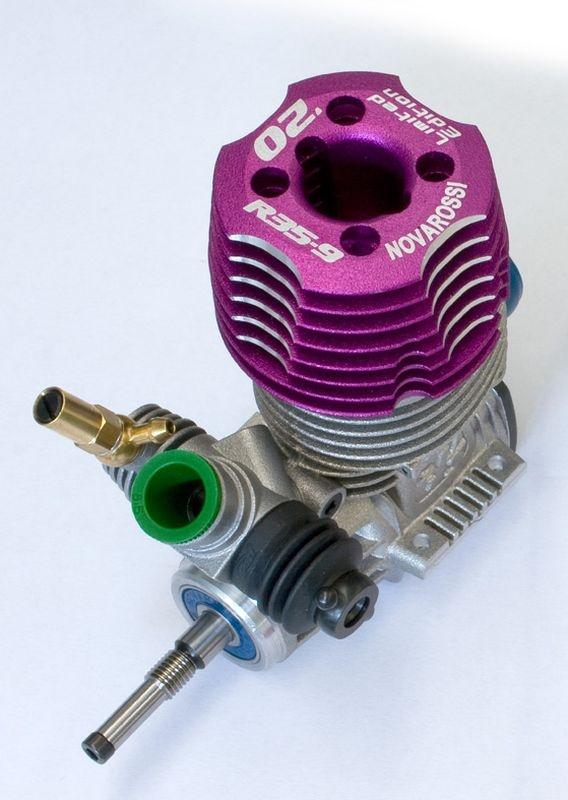 SLVR NOVAROSSI R35-9 3.5cc Ltd Edit 2020 35PLUS-Basis +510XX