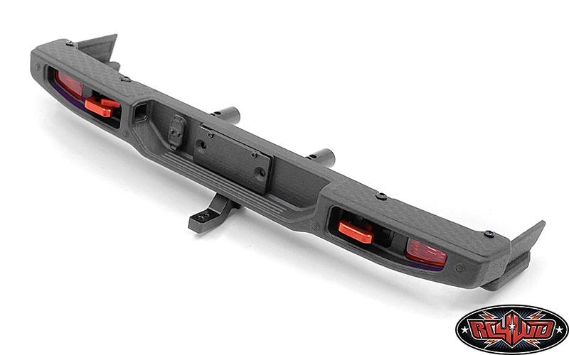 OEM Rear Bumper w/ Tow Hook and License Plate Holder