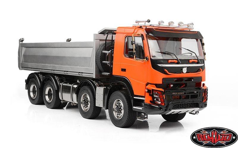 1/14 8x8 Armageddon Hydraulic Dump Truck (FMX V2 Red)