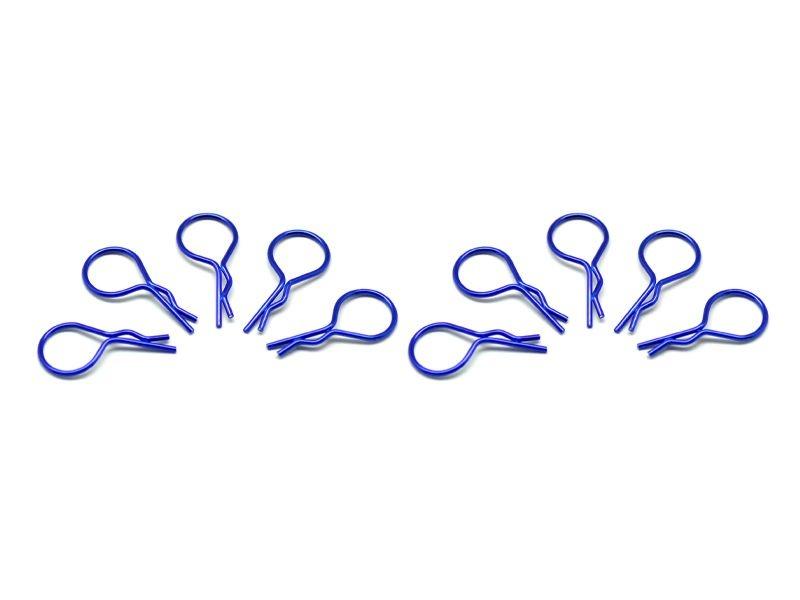 big body clip 1/10 - metallic blue  (10)