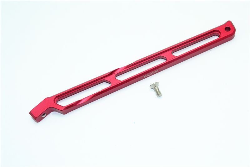 ALUMINUM REAR CHASSIS LINK -2PC SET red