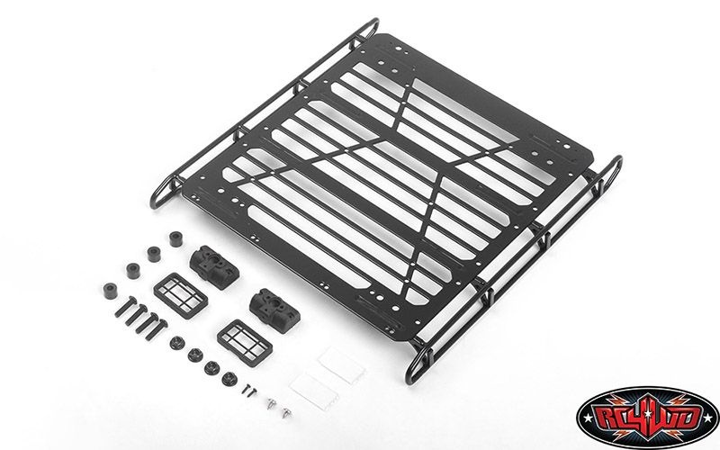 Adventure Steel Roof Rack w/ Lights for Mercedes-Benz G 63 A