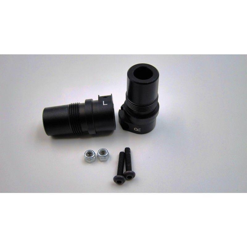 SAMIX SCX10-2 Samix alum. black rear lock out