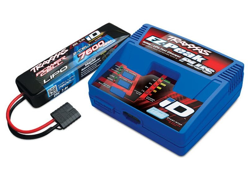 Completer Pack mit 2970GX iD Lader +2869X 7600mAh 7.4v LiPo