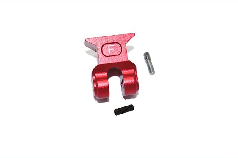 ALUMINUM FRONT SUSPENSION LINK STABILIZER -3PC SET red