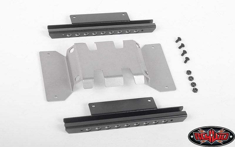 Rough Stuff Skid Plate w/Sliders for MST 1/10 CMX w/