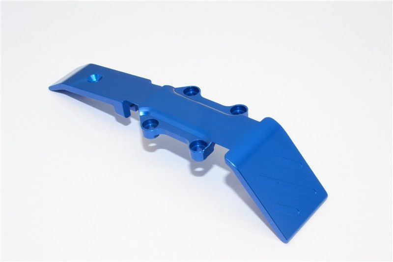 ALLOY FRONT SKID PLATE - 1PC blue