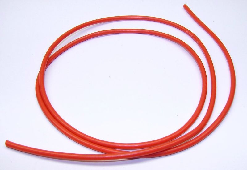 14Gauge Superflex Kabel rot 3ft