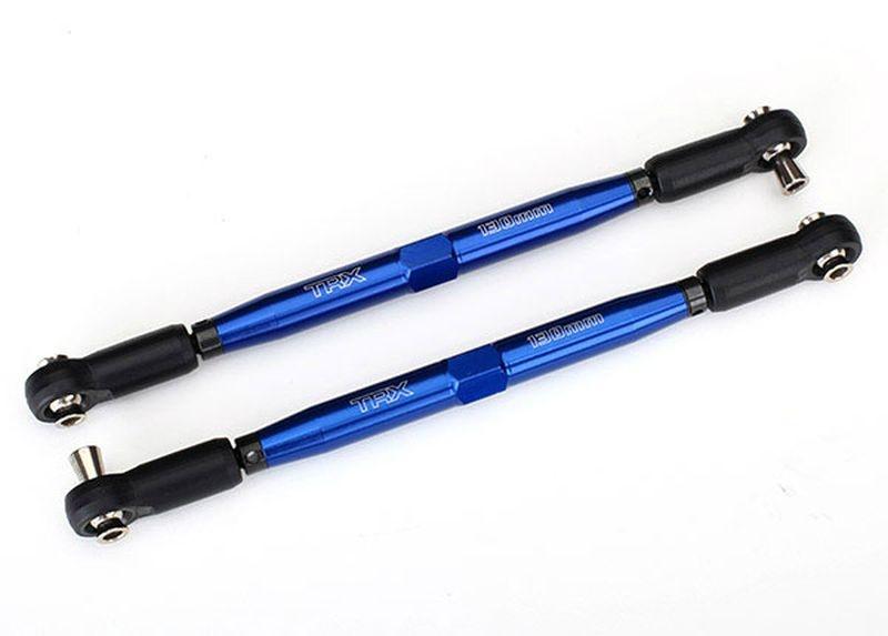 Vorspurstange X-Maxx blau 7075-T6 Alu