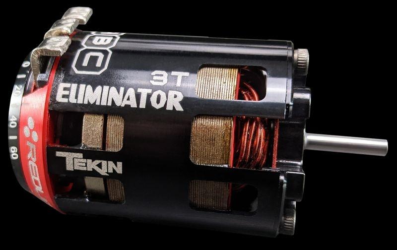 3.0 Gen4 Eliminator, 13mm x 25.5mm x 5mm torque rotor Red