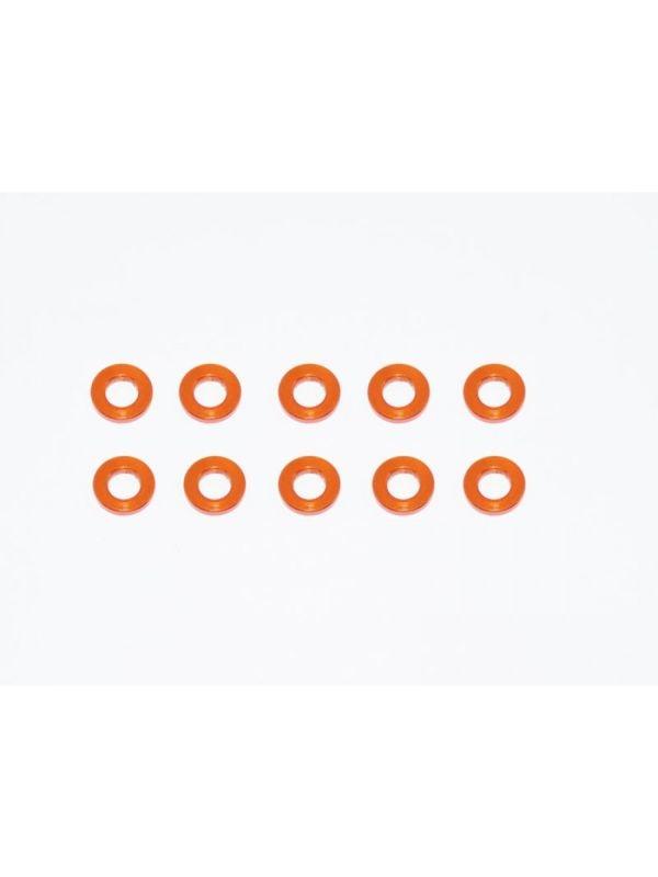 Alu Shims 3X6X1-Orange (10)