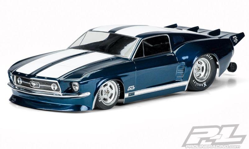 Pro-Line 1967 Ford Mustang Karo klar