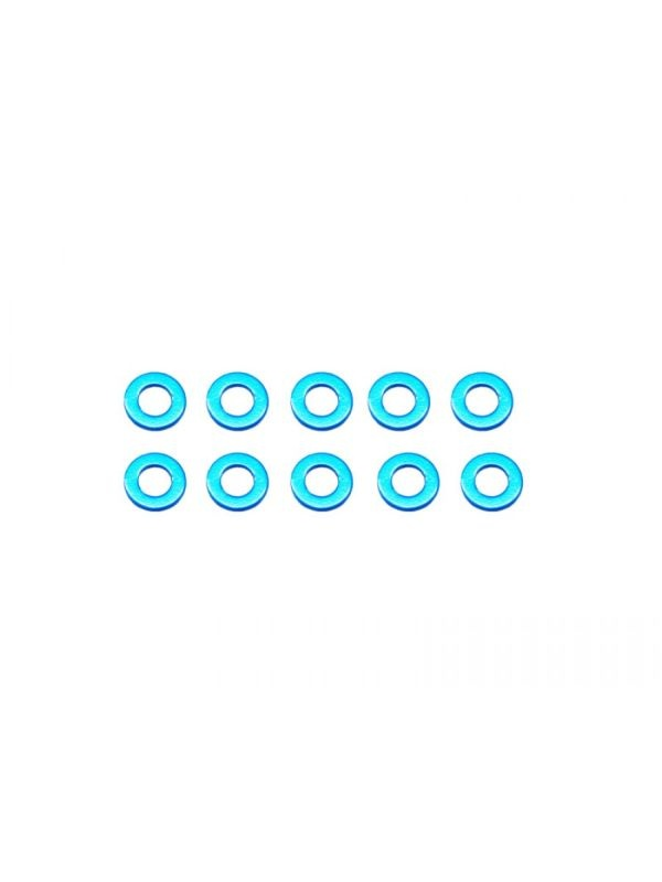 Alu Shims 3X6X0.5-Blue (10)