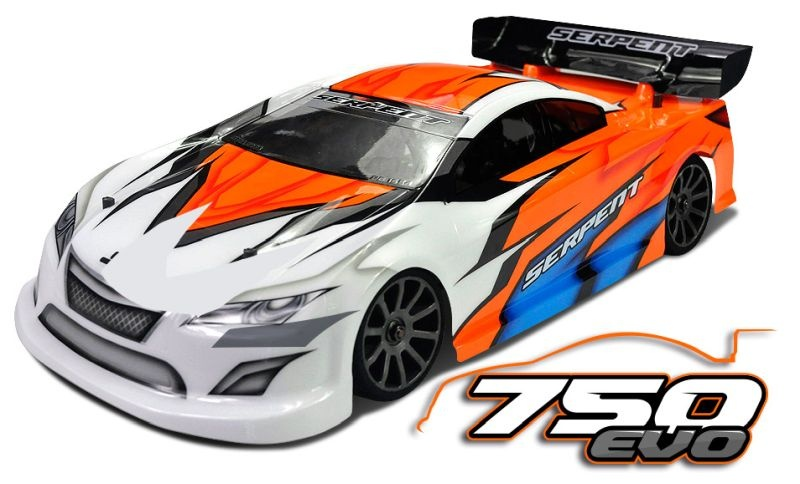 Serpent Natrix 750 EVO 4WD 1/10 200mm GP Car (SER804012)