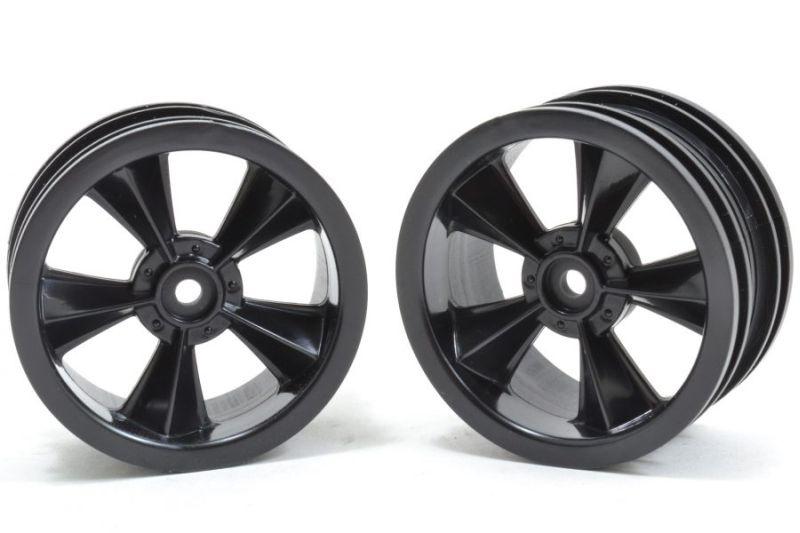 N2O Gloss Black Resto-Mod Sedan Felgen