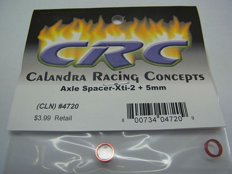 Achs-Spacer -2 +5mm