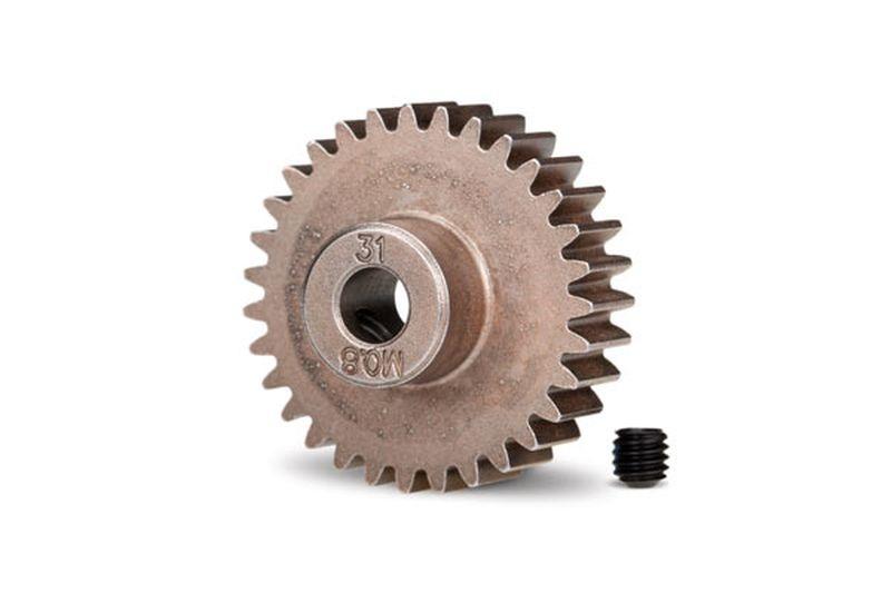 Ritzel 31 Zähne 32DP Modul 0.8 für 5mm Welle