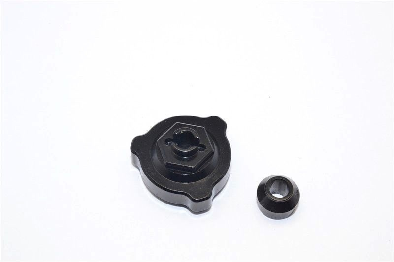 ALLOY SLIPPER SHAFT BEARING ADAPTOR  - 2PCS black