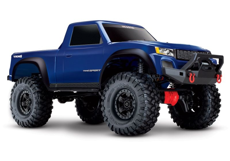 TRAXXAS TRX-4 Sport 4x4 blau RTR ohne Akku/Lader **AKTION**