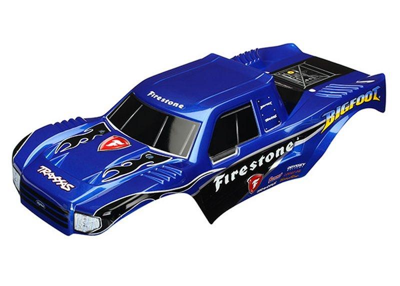 Karosserie BIGFOOT Firestone lackiert + Aufkleber