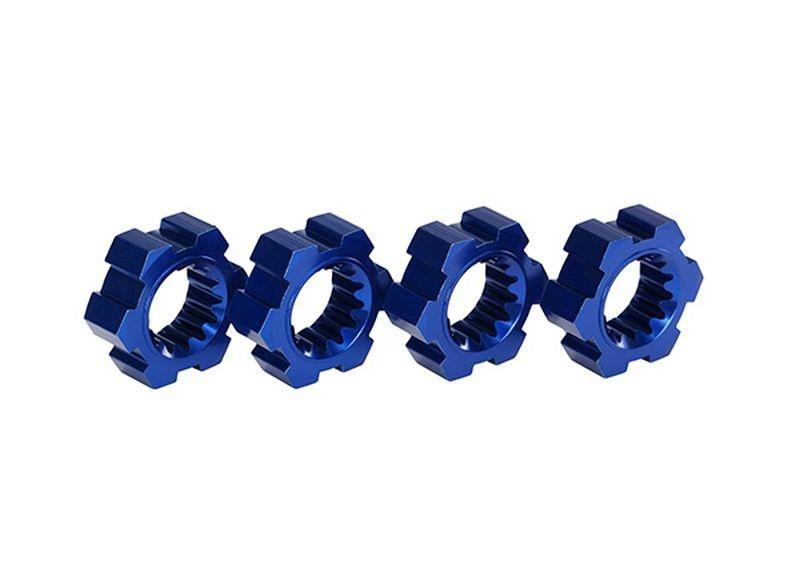 Radmitnehmer, Sechskant, Alu (blau-eloxiert) (4)