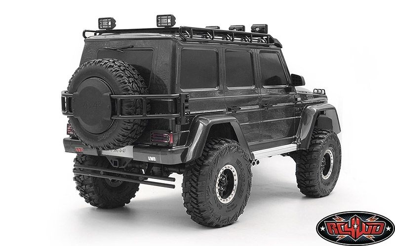 Spare Wheel and Tire Holder for Traxxas TRX-4 Mercedes-Benz