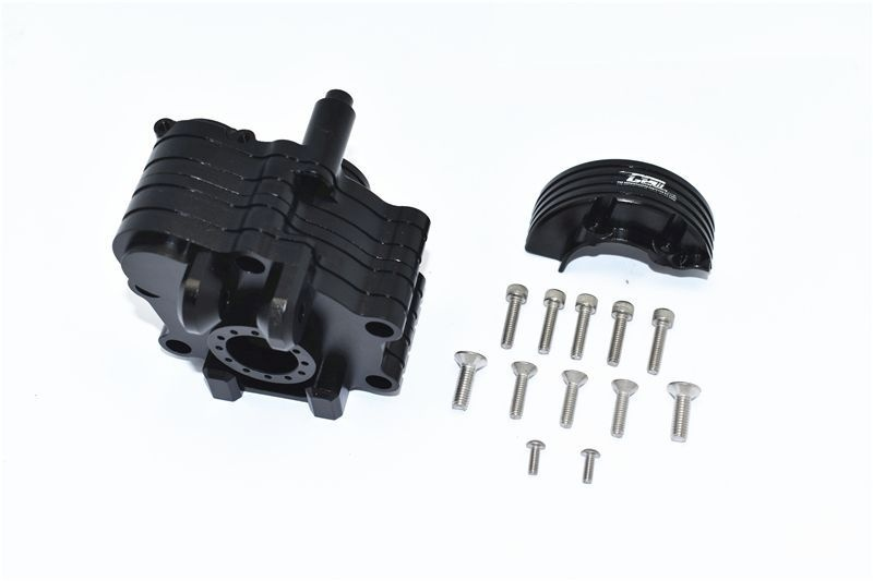 ALUMINUM CENTER GEARBOX -15PC SET black