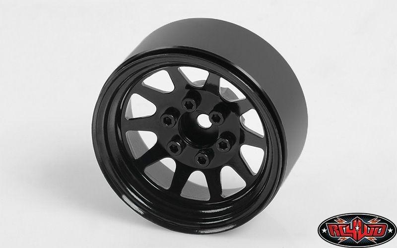 OEM Stamped Steel 1.9 Beadlock Wheels (Black)