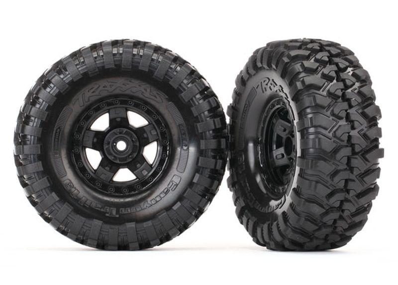 Felgen&Reifen, montiert (TRX-4 Sport mit Canyon Trail 1.9) (