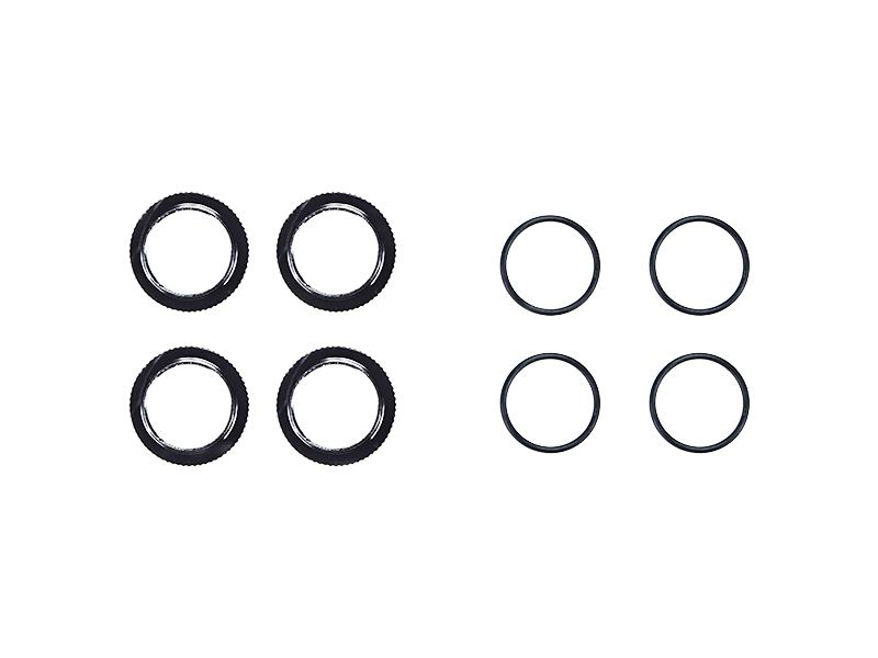 Shock adjusting nut alu o-rings (4) X20 (SER401839)