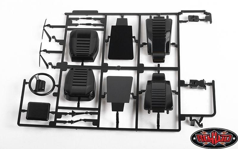 RC4WD 2015 Land Rover Defender D90 Interior/Dash+Door Panels
