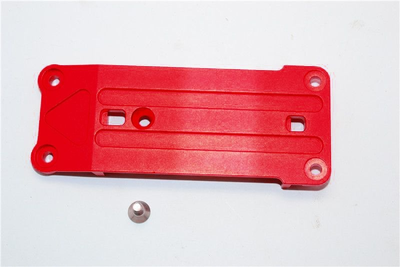 ALUMINIUM FRONT SUSPENSION HOLDER - 1PC SET red