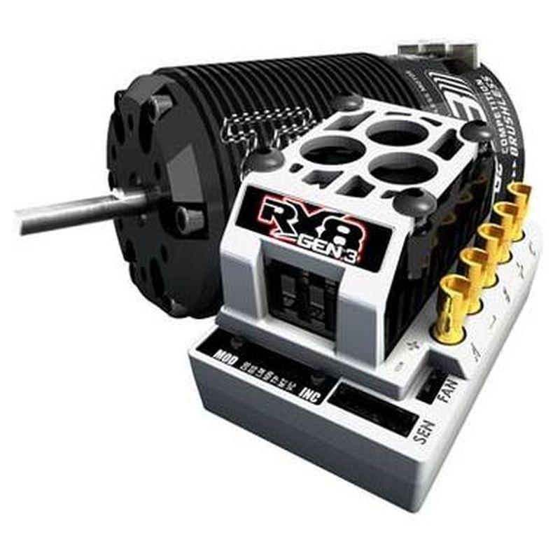 Rx8gen3 BL ESC - 4038 T8gen3 Truggy 1550kv 1/8 Sys