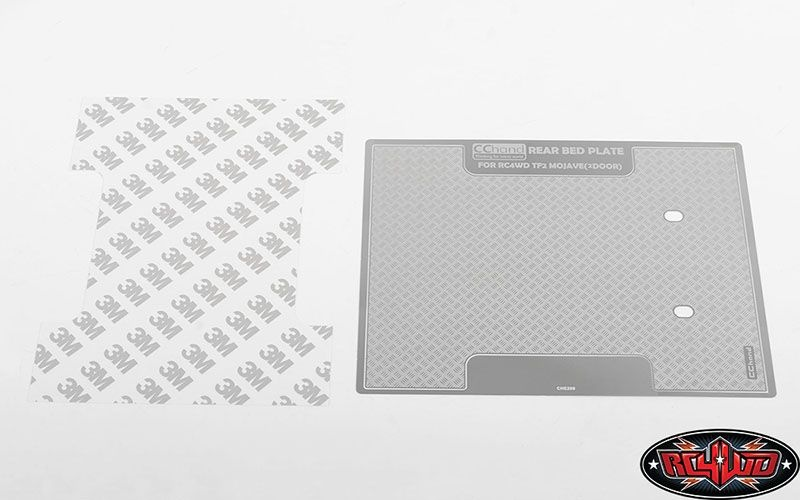 Diamond Plate Rear Bed for RC4WD Trail Finder 2 RTR