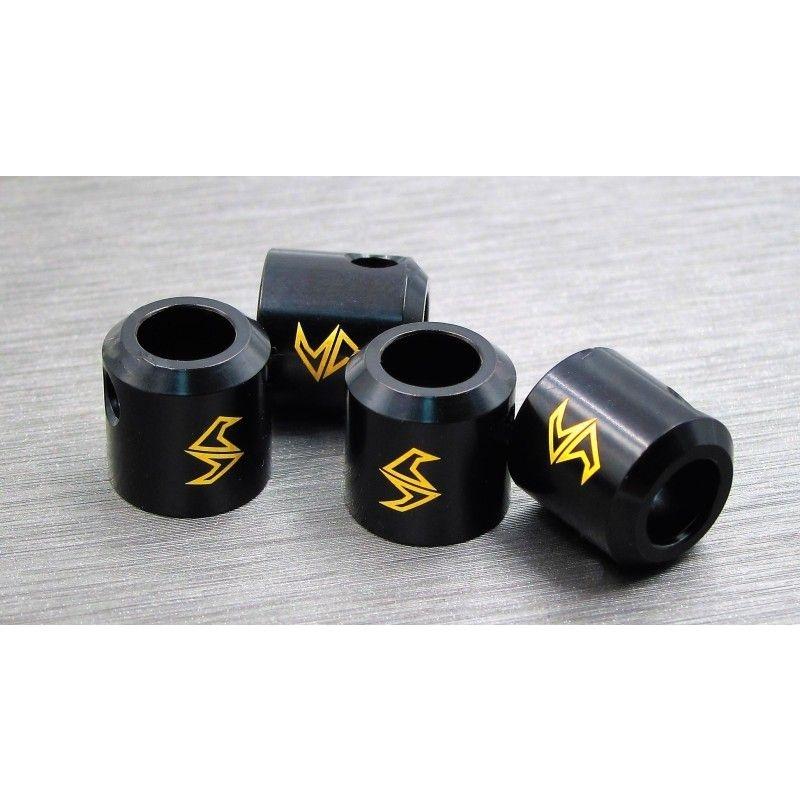 SAMIX SCX10-2 brass drivershaft cups 4pcs