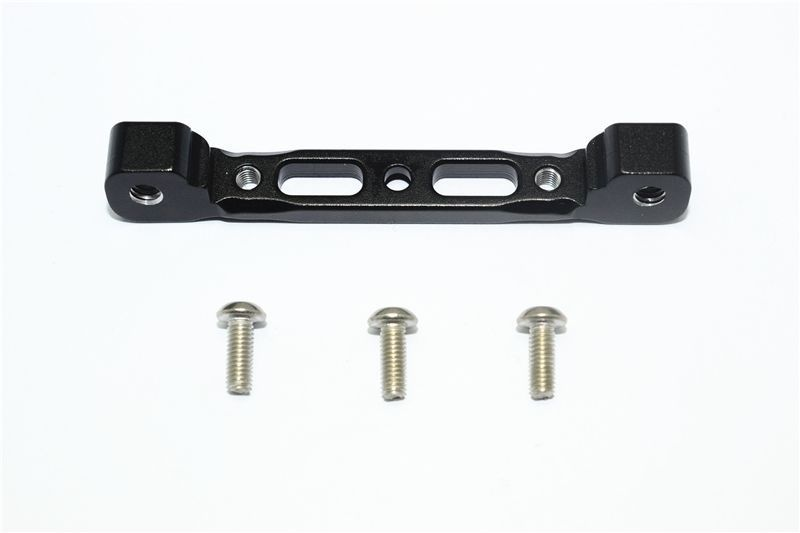 ALUMINIUM REAR ARM BULK FOR FRONT UPPER ARMS -4PC SET black