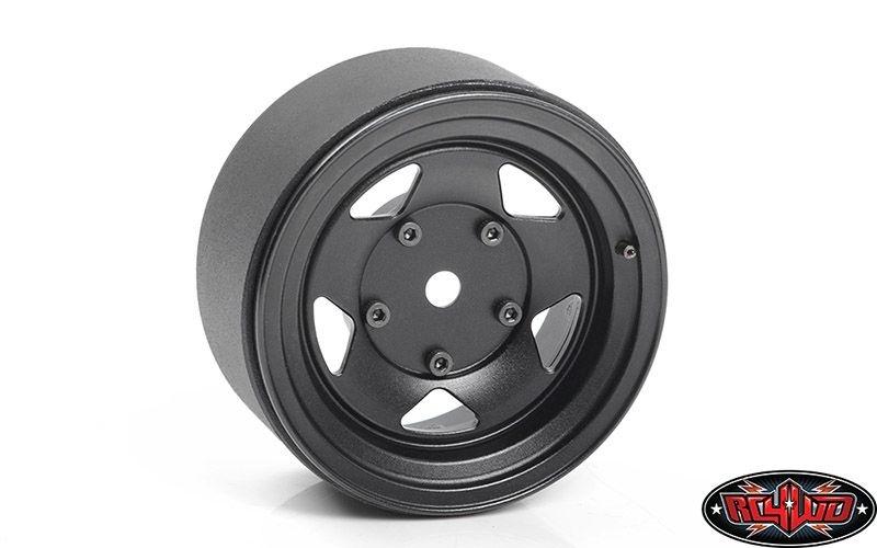 Seren 2.2 Beadlock Wheels w/ Center Caps (Black)