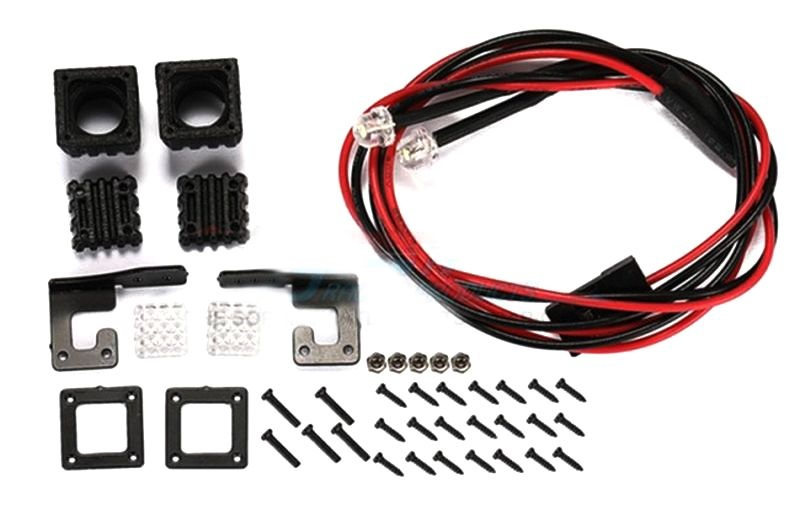 SCALE ACCESSORIES: SPOTLIGHT FOR CRAWLERS ?TYPE A?-42PC SET