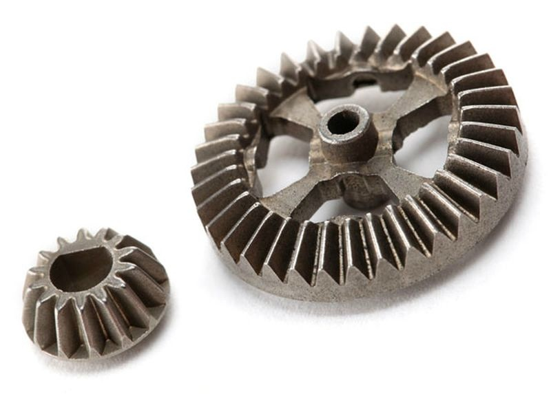 Kegel- + Tellerrad (Metall)